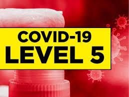 Covid Level 5 and First Aid Certificate expiry date