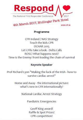 CFR Ireland Respond 2017